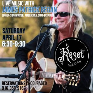 Live Music with James Patrick Regan @ Reset: Cafe by Day